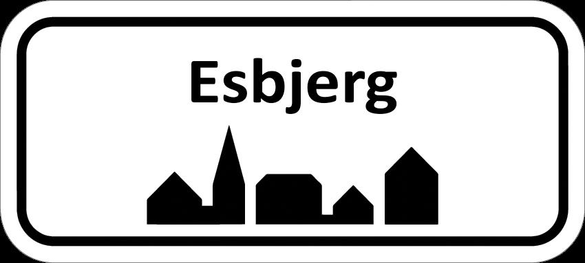 Elektriker Esbjerg Byskilt