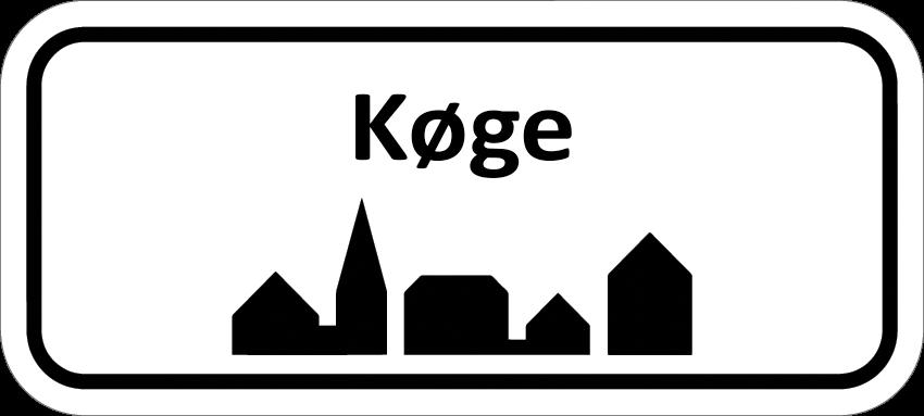 Elektriker Køge Byskilt
